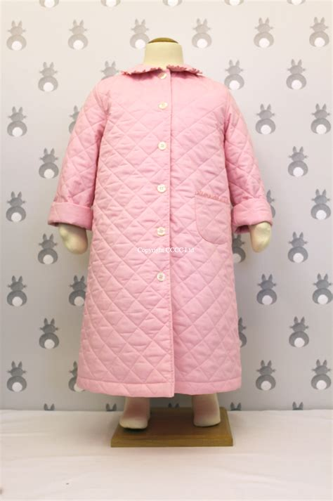 Quilted Dressing Gowns nightwear emily rabbit