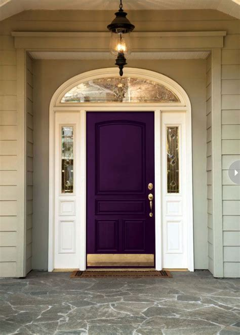door paints how to choose a front door paint colour the purple