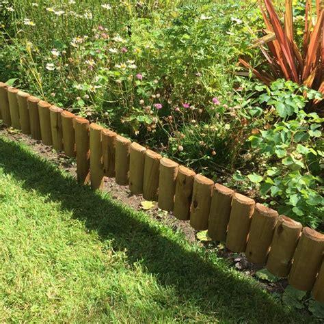 log edging  garden borders buy   ireland