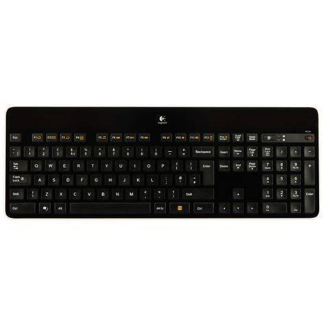 Solar Powered Keyboard by Logitech Wireless Solar Powered Keyboard K750 920 002929