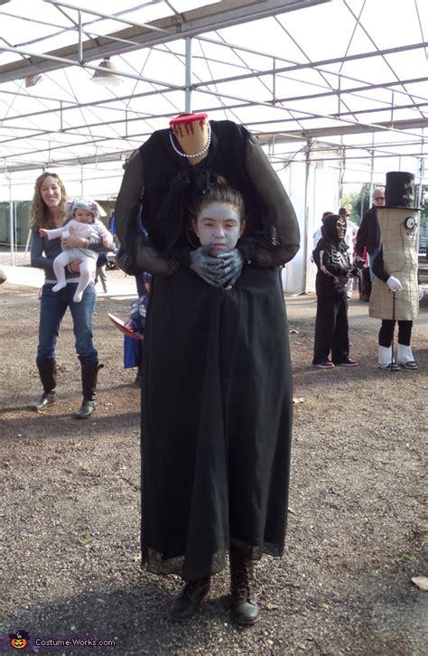 headless woman costume  girls