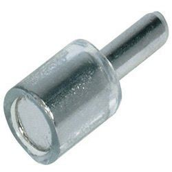 Glass Shelf Pins Supports by Glass Shelf Support For 3mm Nickel 20pins