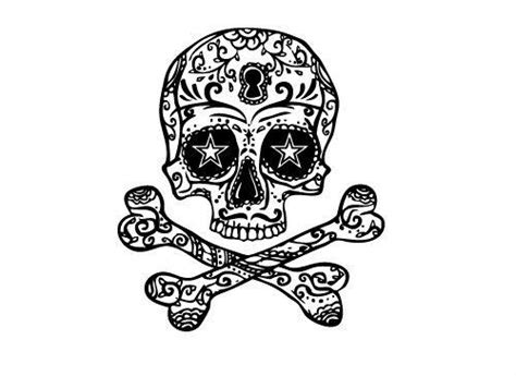 skull and cross bones tattoo skull cross bones set mytat