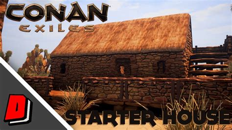 home and exile series 1 conan exiles gameplay early access starter house
