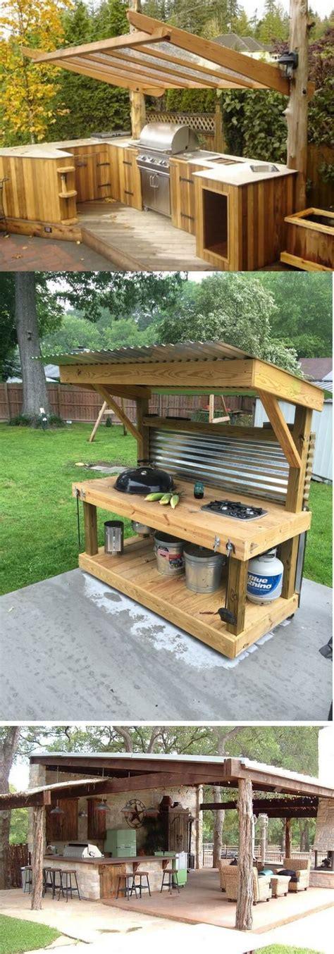 stunning outdoor kitchen ideas designs