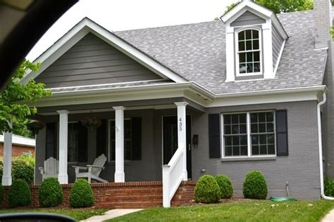grey painted brick house painted brick grey hartwell house pinterest