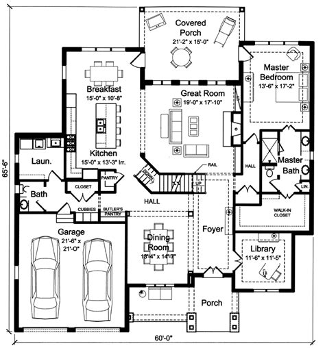 2 story house plans with master on floor house plans master on