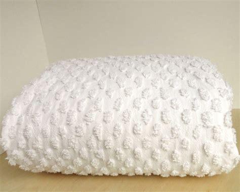 Chenille Duvet Chenille Duvet Comforter Cover White Cotton By