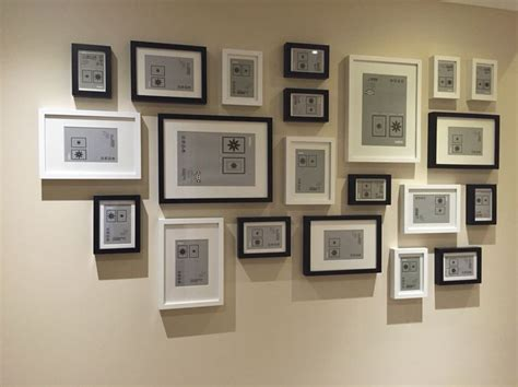 picture wall template ikea 25 best ideas about ikea frames on ikea