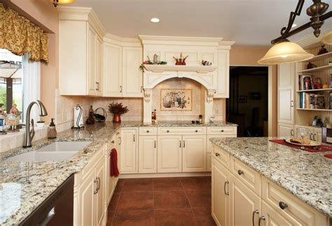 How To Install Kitchen Base Cabinets french vanilla kitchen traditional kitchen