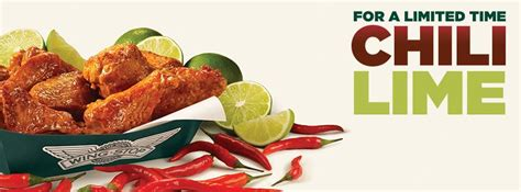 table wing flavors wingstop turns up the heat with chili lime wings