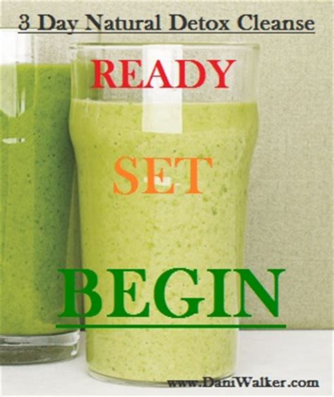 Organic Detox Cleanse Recipes by 3 Day Detox Cleanse For The New You