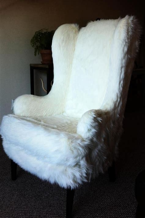 Fuzzy Chair Covers fuzzy fur chair hip seats