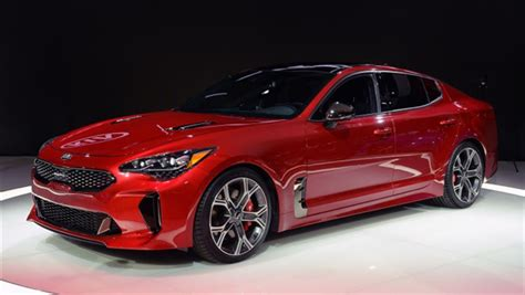 Kia Line Up Kia Spices Up Lineup With Stinger Gt