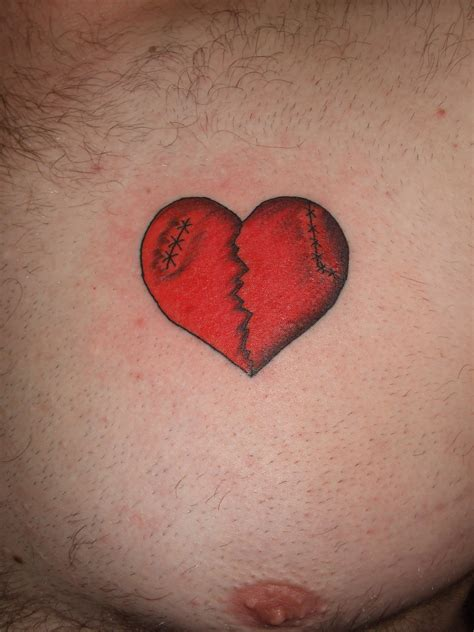 heartbreak tattoo broken