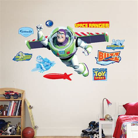 buzz lightyear wall stickers story buzz lightyear wall sticker