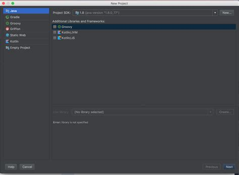 template android studio project macos no template when i create a new project on android