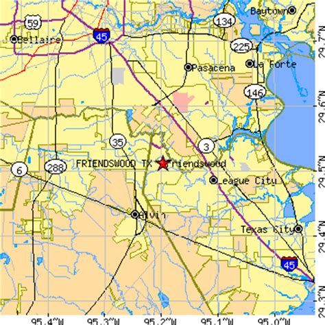 map of friendswood texas friendswood texas tx population data races housing economy