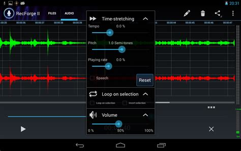android record audio recforge ii audio recorder android apps on play