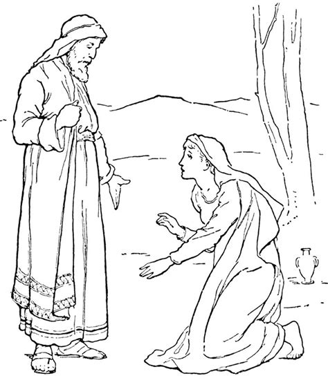 Bible Angels Coloring Pages Free Bible Colouring Pages