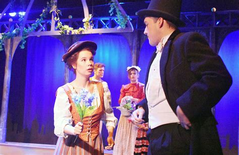 college light opera company theater review loverly production of my fair lady