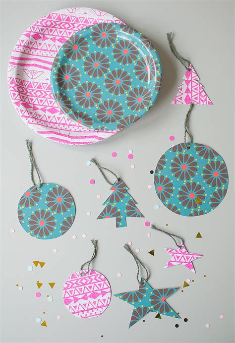 How To Make Paper Tags - diy gift tags made from paper plates