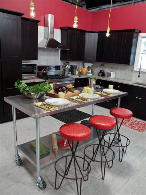 wheeled kitchen islands photo page hgtv