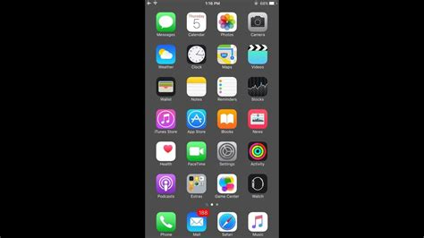 wallpaper iphone no dock hide dock in ios 11 youtube
