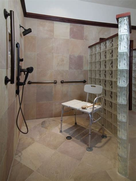 accessible bathroom design ideas handicapped accessible shower ideas pictures remodel and decor