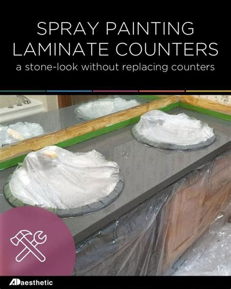 spray painting laminate 17 best images about creative countertops on