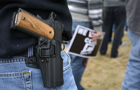 why feel the need to carry guns la times