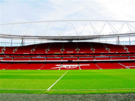 arsenal stadium free photo emirates stadium london arsenal free image