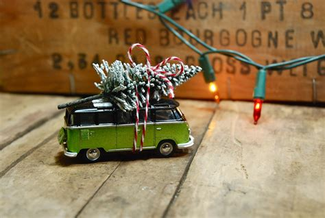 fun easy diy ornament vintage toy car christmas tree