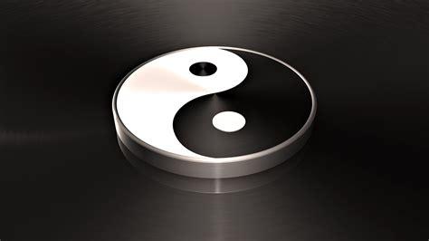 imagenes de yin yang en 3d yin yang fondos de pantalla fondos de escritorio