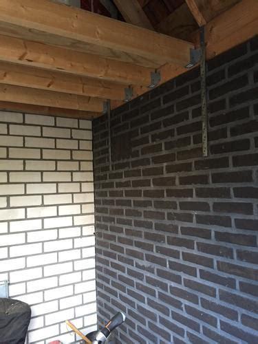schuur laten isoleren isoleren van halfsteens schuurtje werkspot