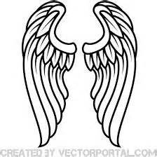 spread angel wings stencils pinterest angel wings