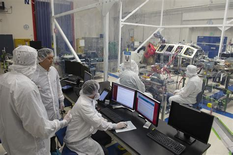 nasa nasas ladee spacecraft  final science instrument installed