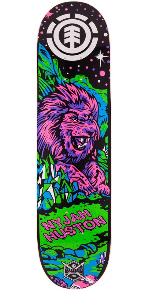 element skateboard decks for sale element nyjah huston neon twig skateboard deck 7 7 quot