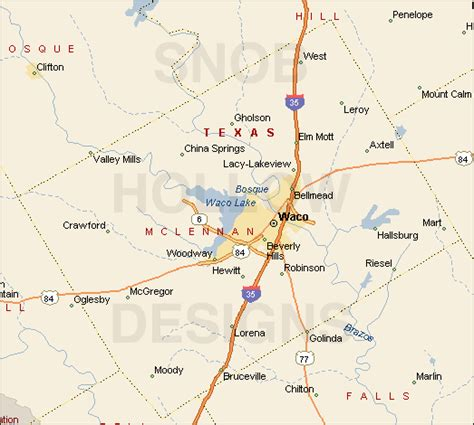 map of mclennan county texas pin mclennan county map department on