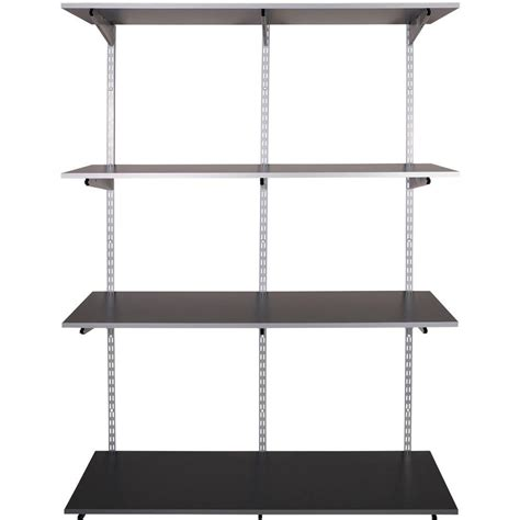Rubbermaid Fasttrack Garage 4 Shelf 48 In X 16 In Rubbermaid Garage Shelving