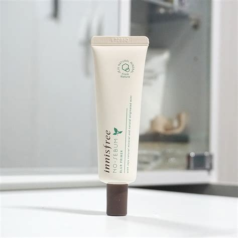 Harga Innisfree No Sebum Primer innisfree no sebum blur primer review