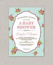 colors shabby chic baby shower shabby chic baby shower invitations