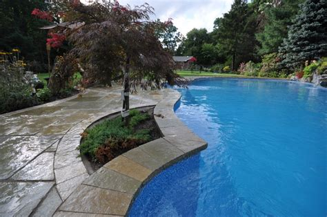 pool coping swimming pools stone coping long island