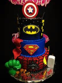Awesome avengers cake for cody but want only hulk iron man capt