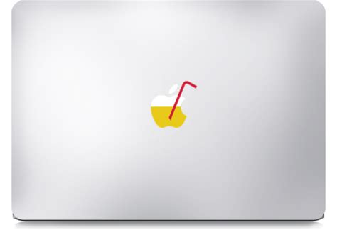Sticker Decal Apple Mini Air Cat On Branch Rina Shop what to do with apple stickers macbook custom sticker