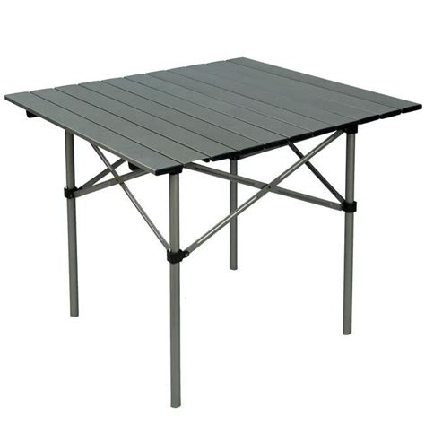 aluminum roll up table aluminium roll up cing table cing