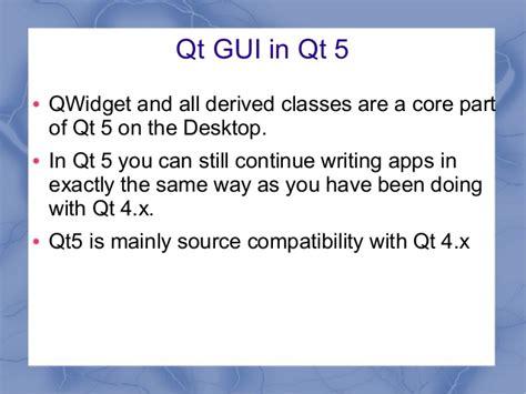qlayout qt5 qt 5 c and widgets