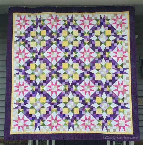 Provence Quilt by De Jong House Quilt 76 A Team En Provence
