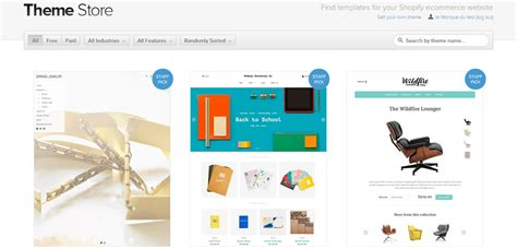shopify themes comparison shopify test complet du logiciel l avis de la fabrique