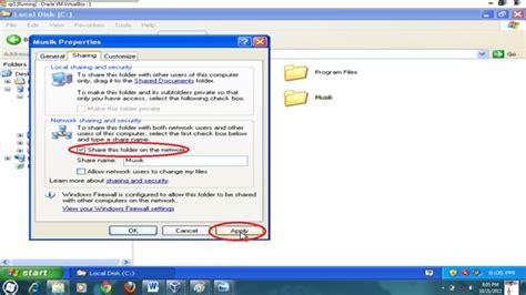 format gambar bawaan sistem operasi windows cara membangun jaringan lan client server pada virtual box